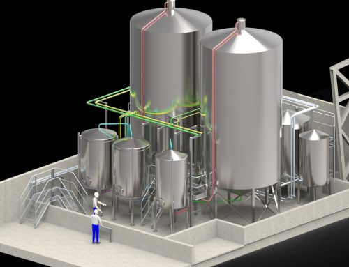 Brewery Upgrade Design Drawings