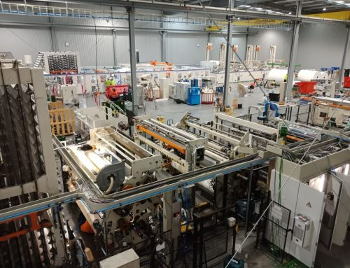Tissue Rewinding Machine Installation & Factory Relocation
